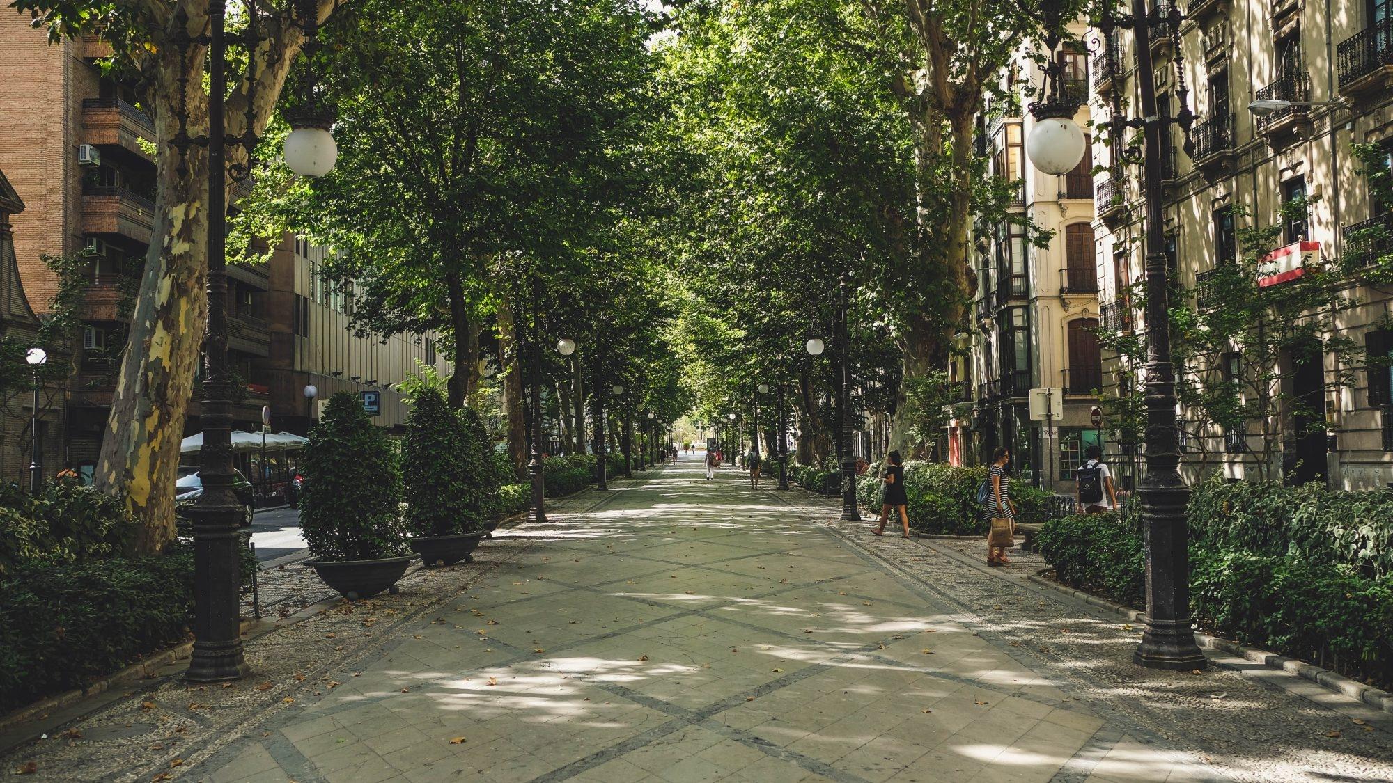 Rue de grenade Andalousie