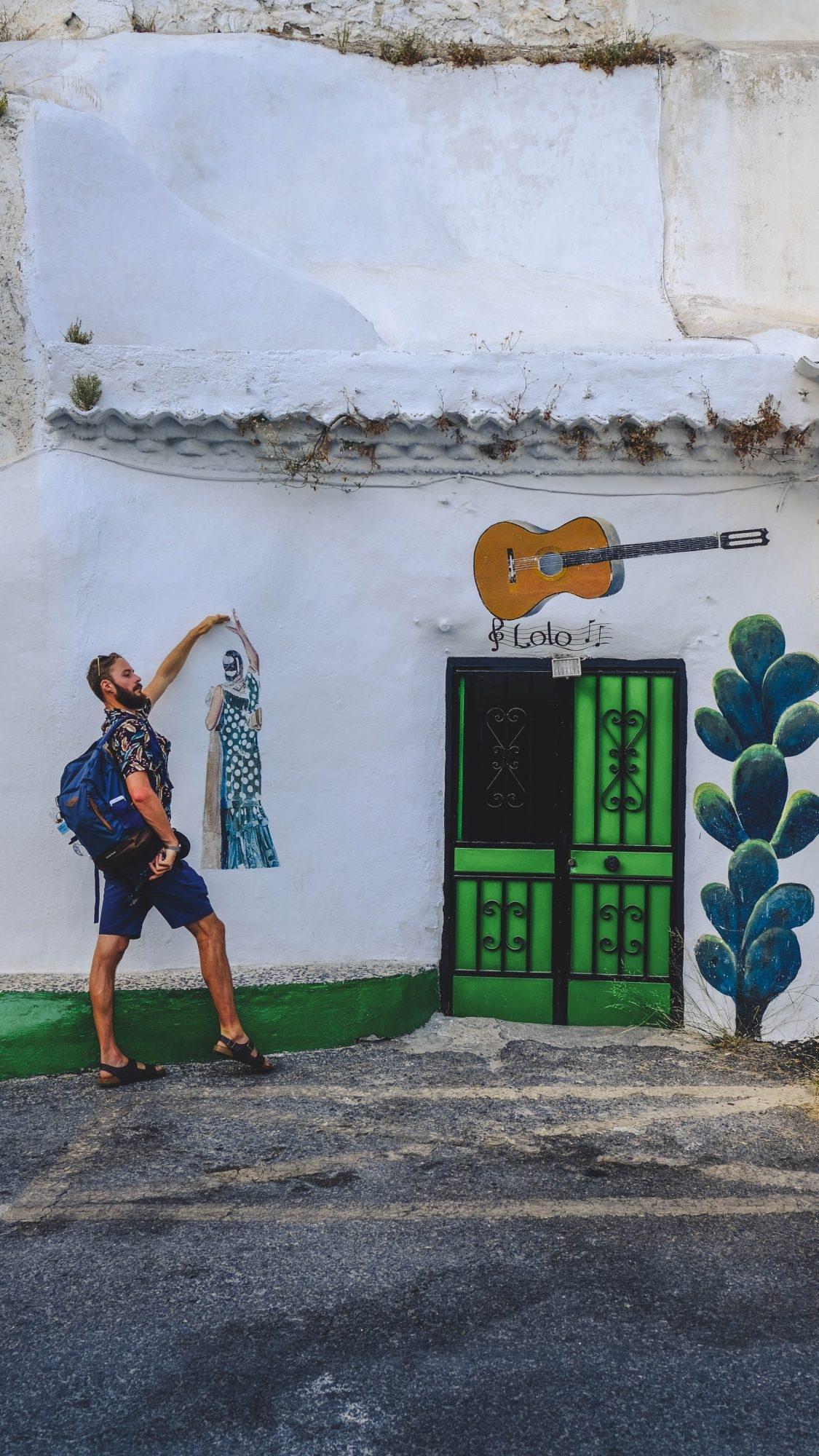 Mimi danseur de Flamenco à Grenade