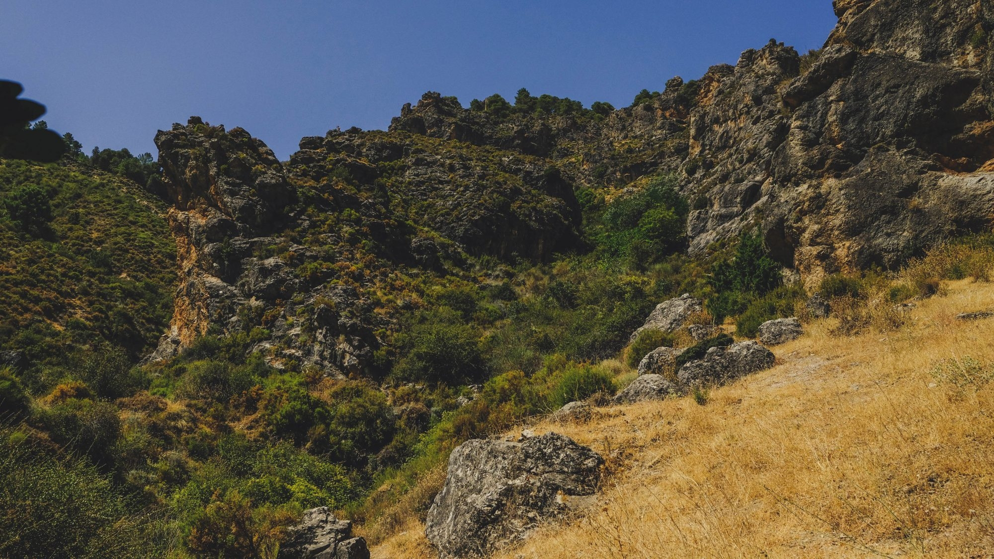 Sierra Nevada - Los Cahorros de Monachil