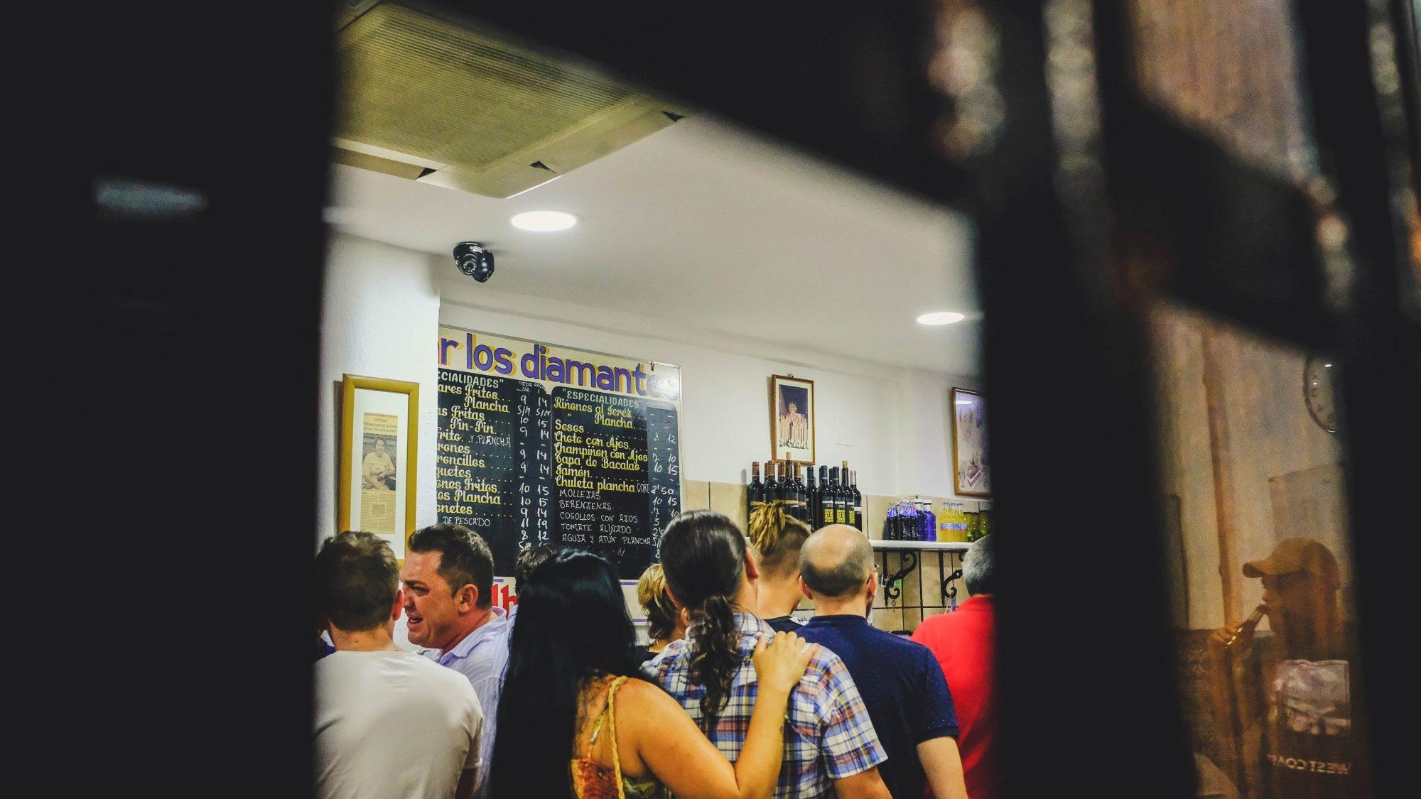 Un bar inmanquable à Grenade, Andalousie