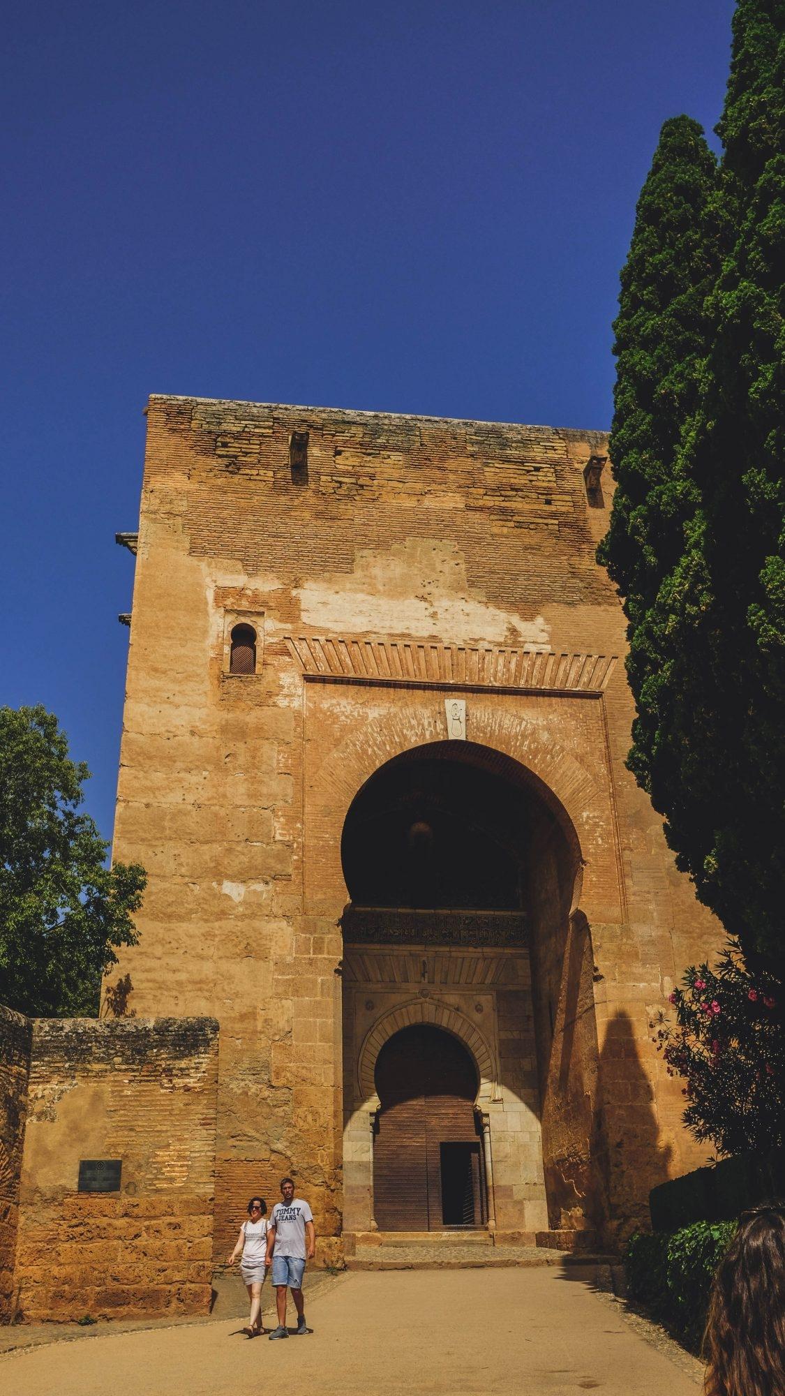 Puerta de la Justicia - Alhambra Grenade