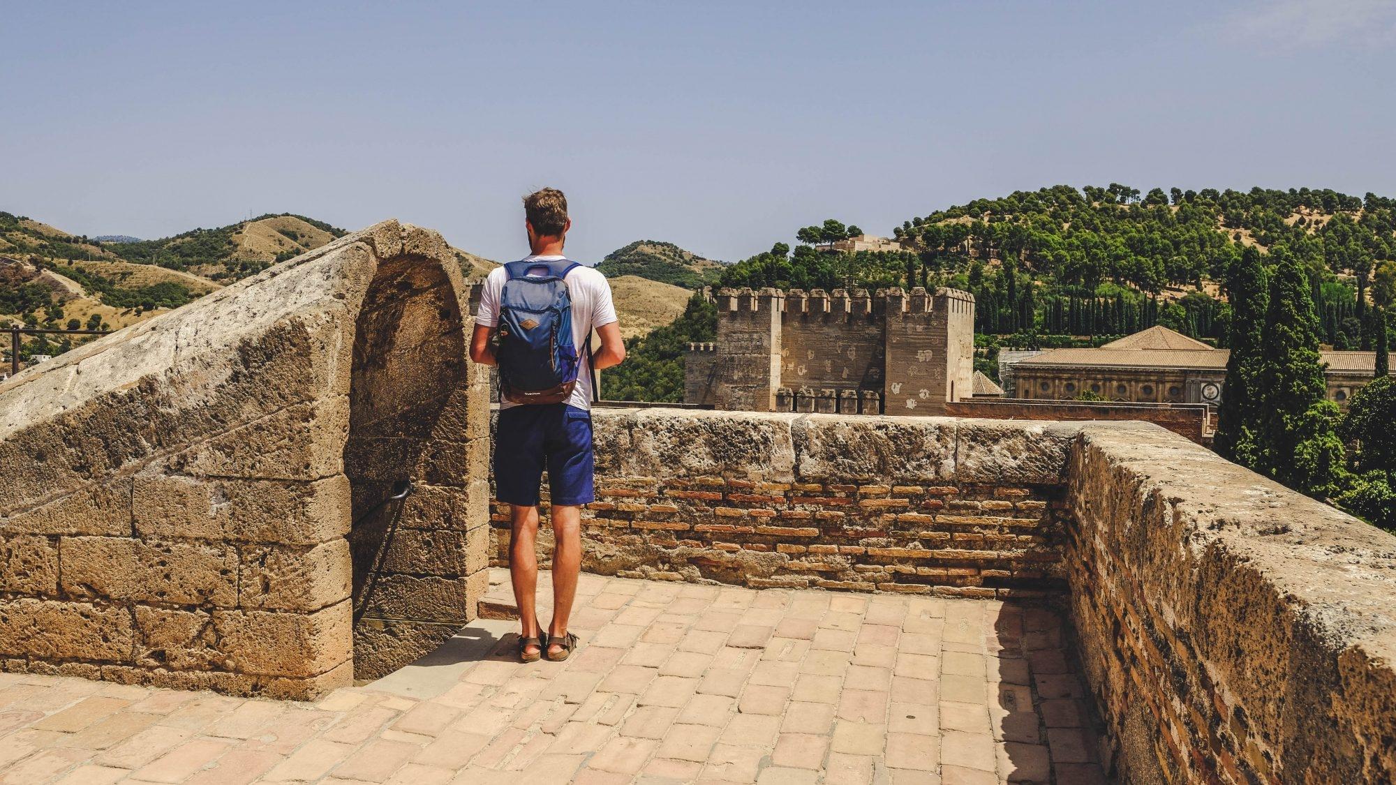 Vue depuis l'Alcazaba à Grenade