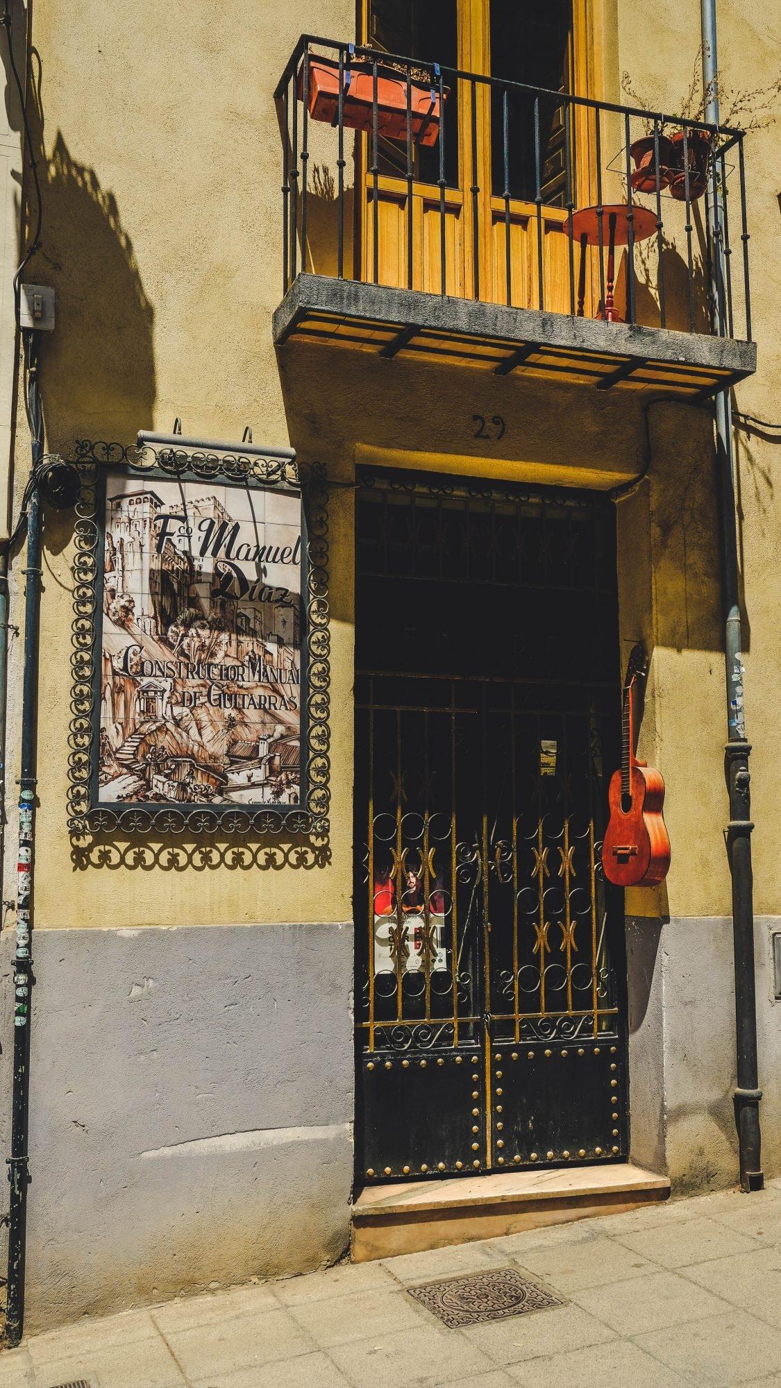 Vendeur de Guitares, Grenade Andalousie