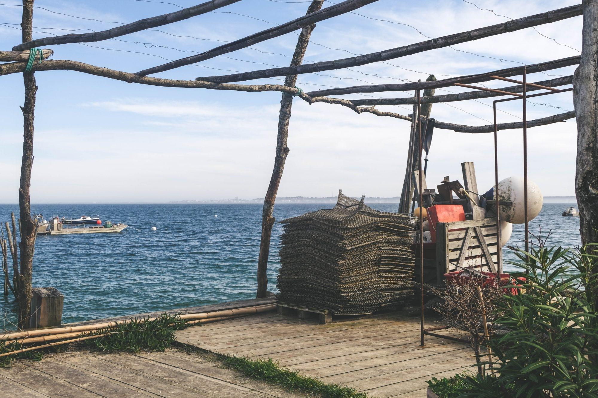 Culture de l'huître sur le Bassin d'Arcachon
