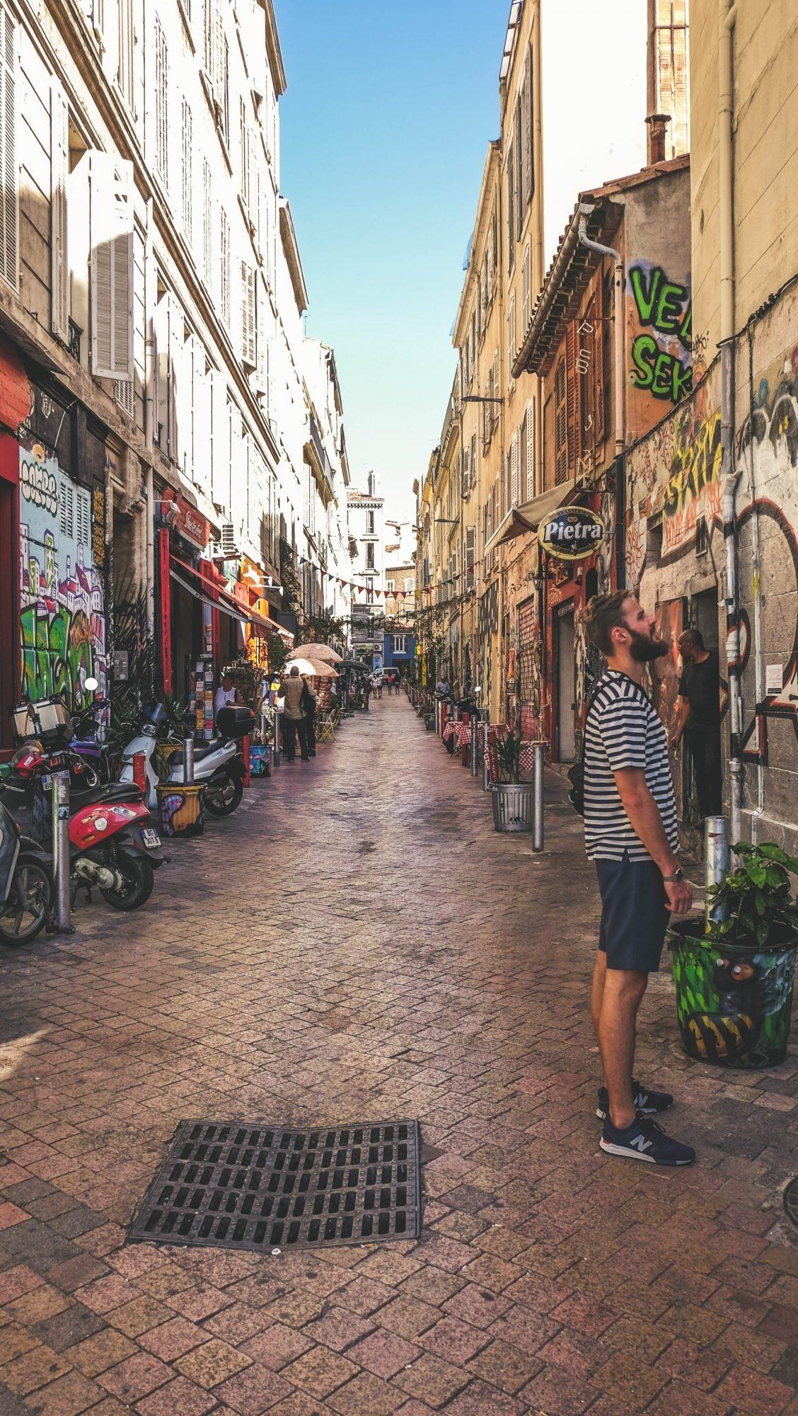 Rue du Cour Julien Marseille