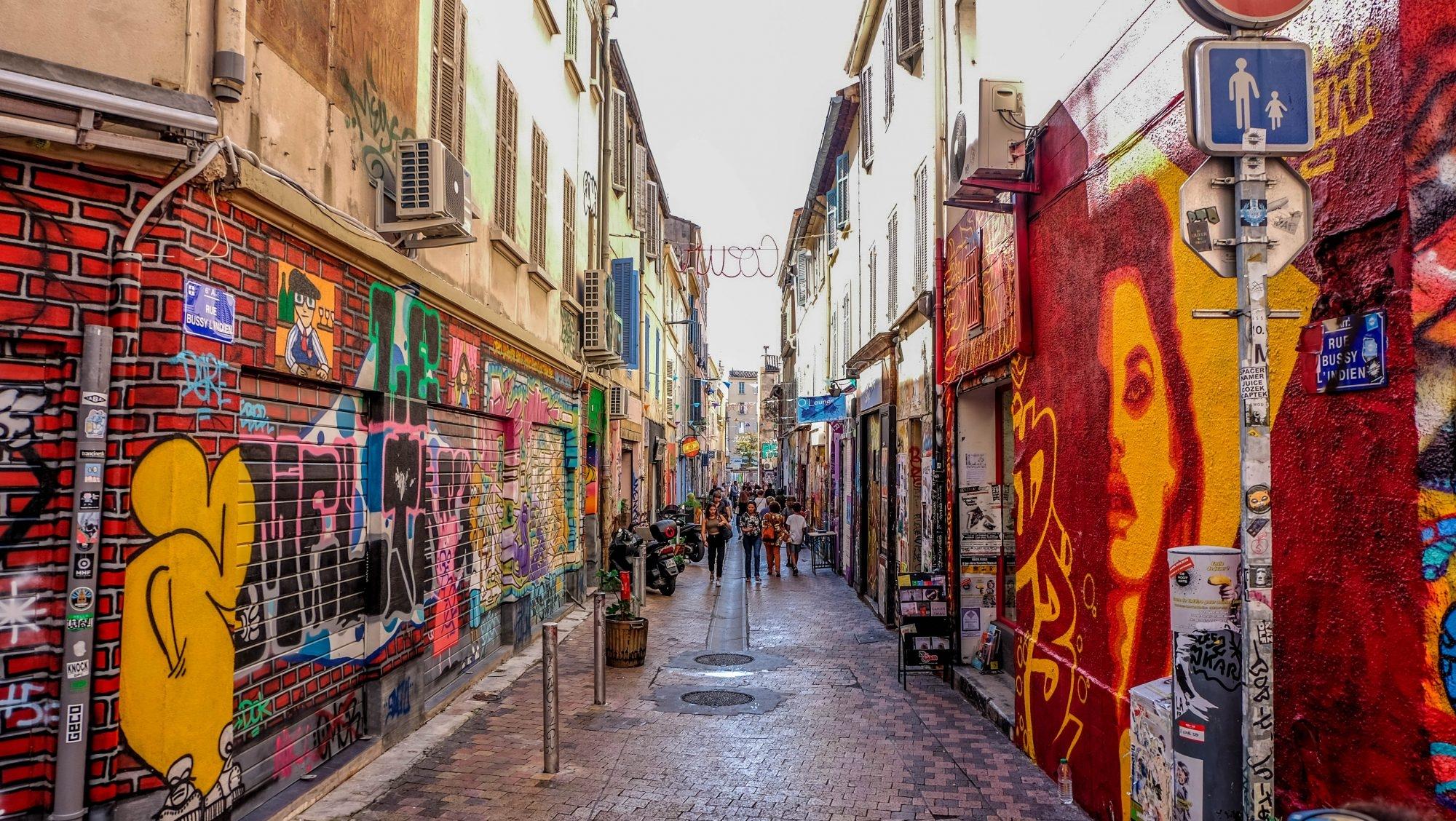 Galerie à ciel ouvert Marseille