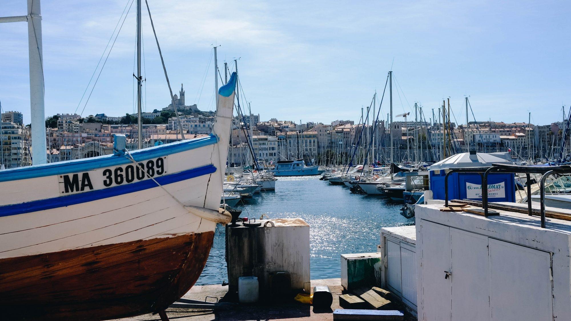 Bateau Vieux Port Marseille
