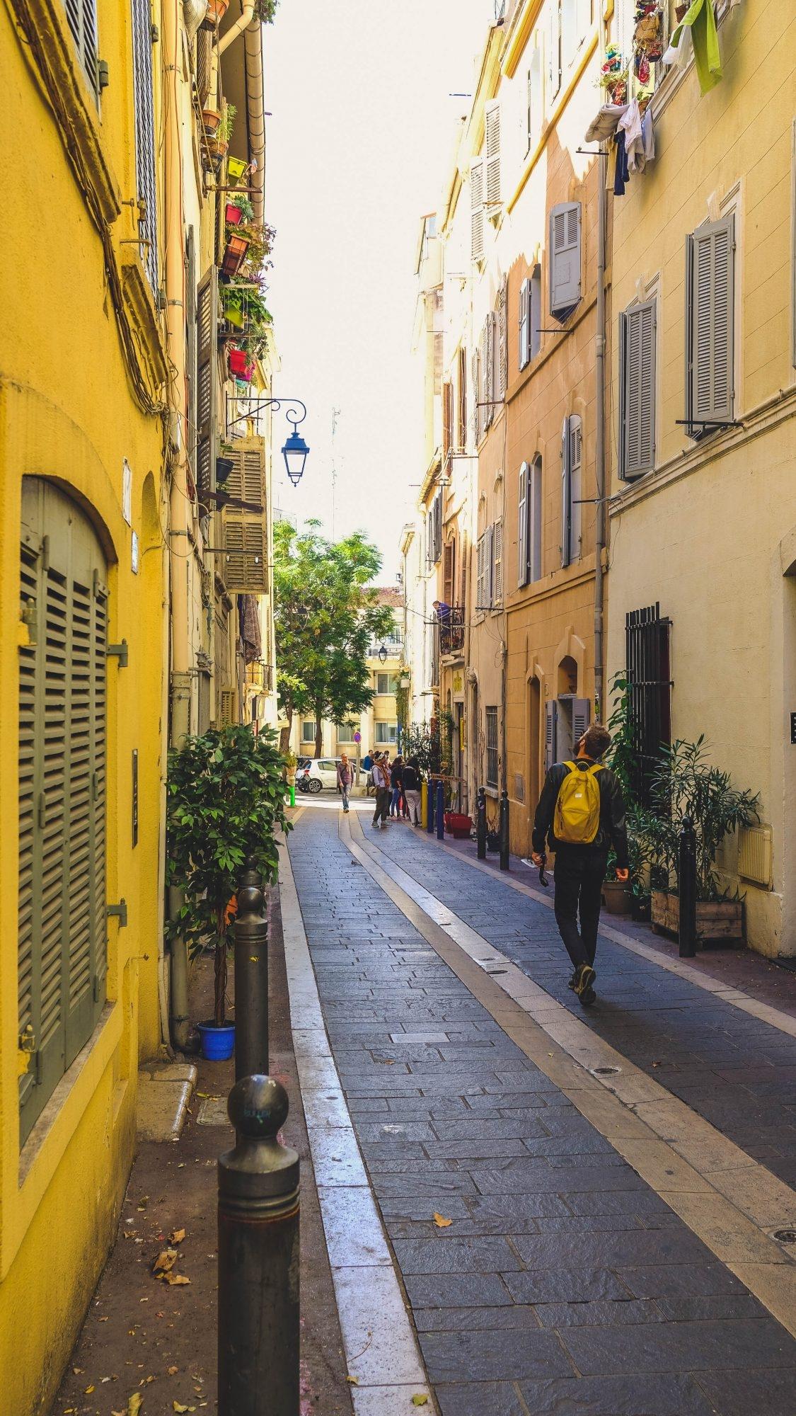 Promenade dans le Panier, Marseille France