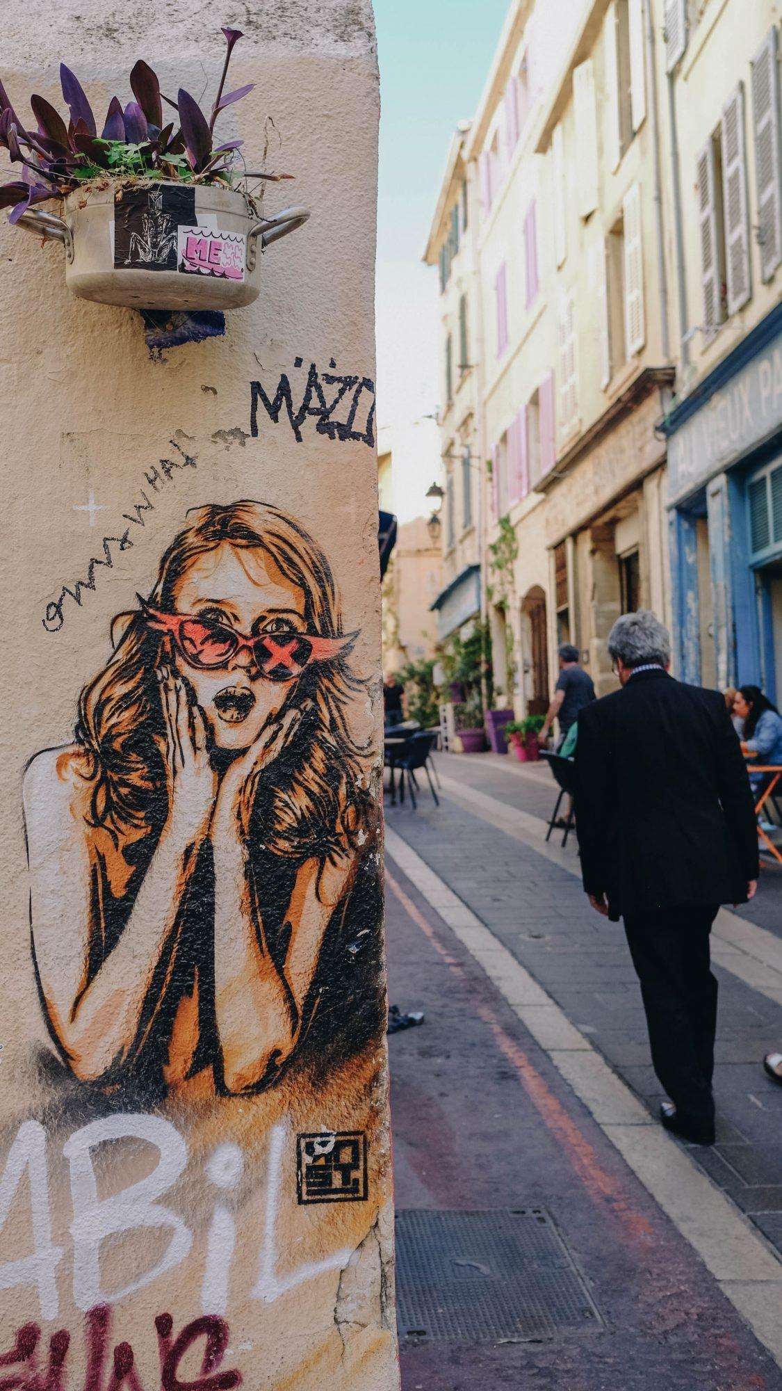 Street Art, Panier Marseille
