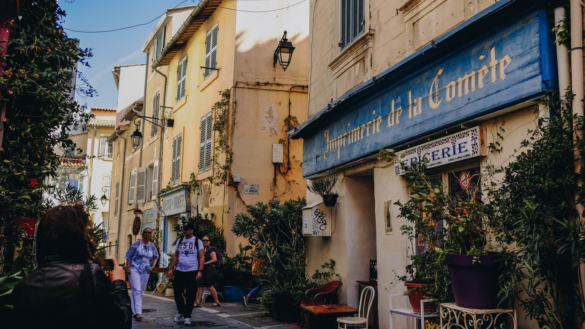 Imprimerie de la Comète, Marseille Panier