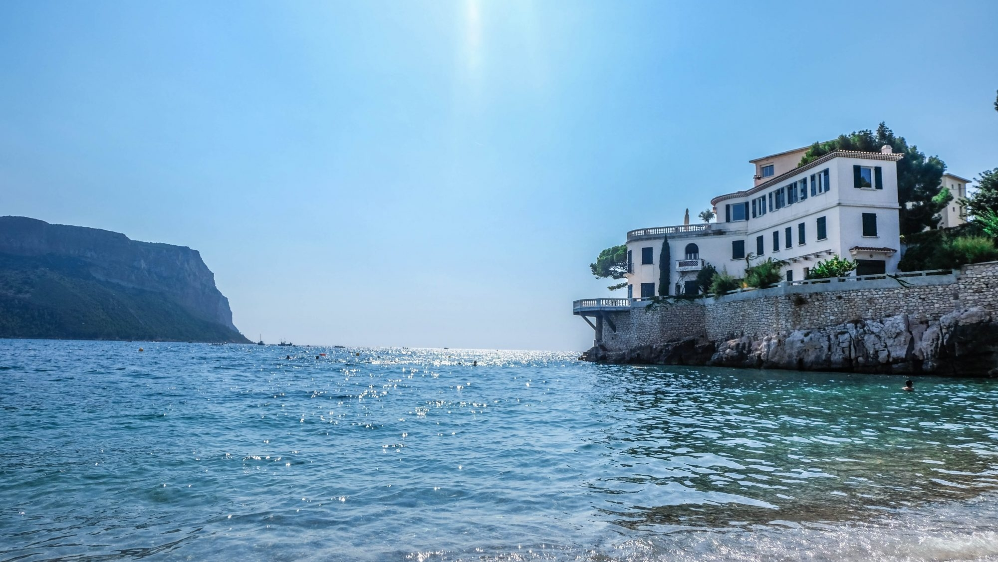 Villa depuis la plage - Cassis