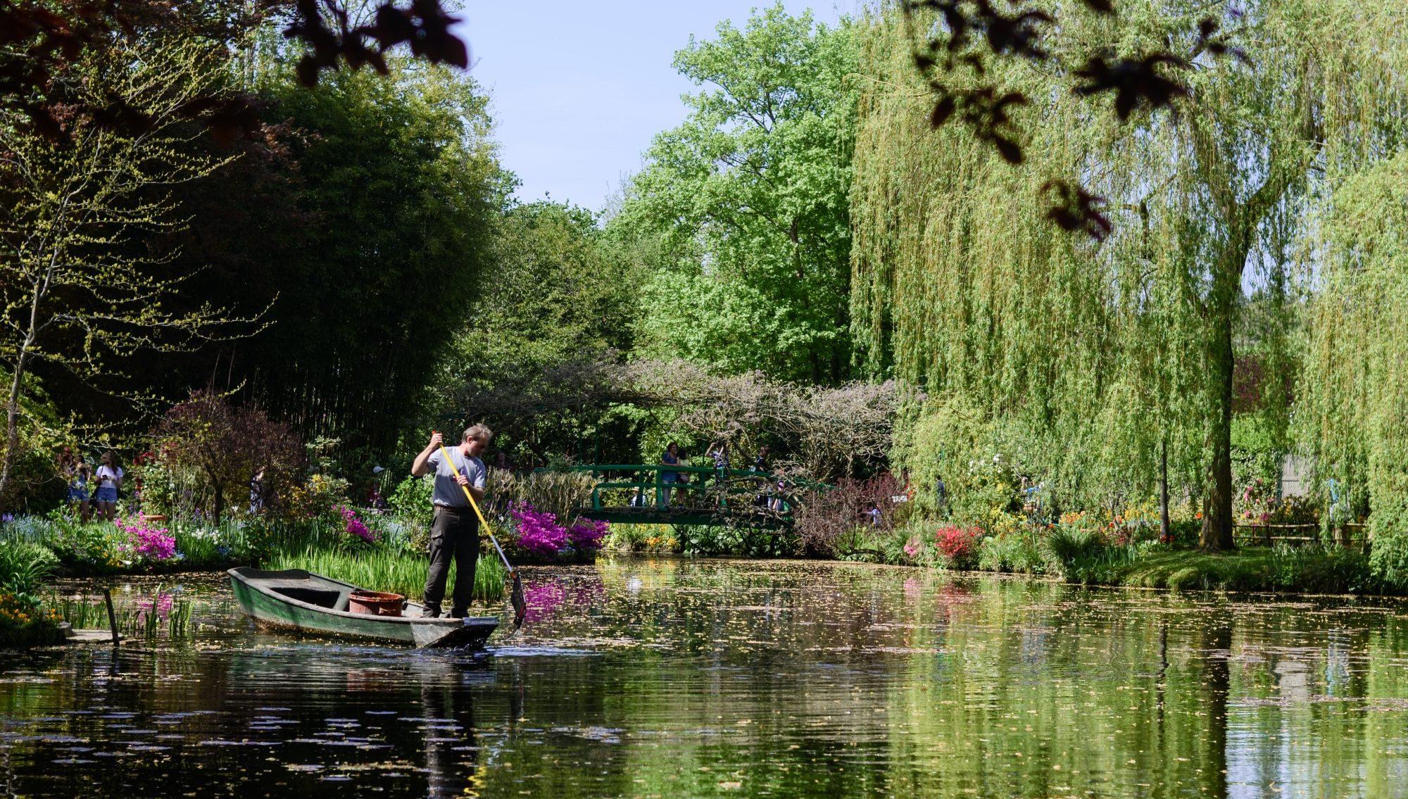 Jardinier du jardin de Monet à Giverny