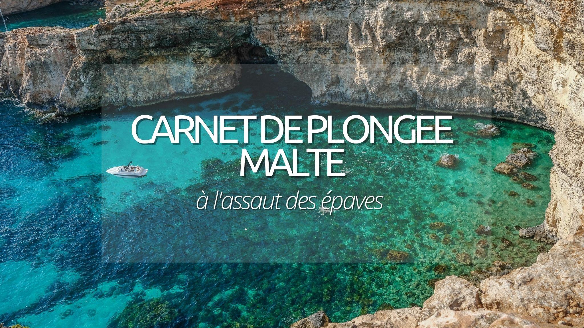 Guide plongée : Malte
