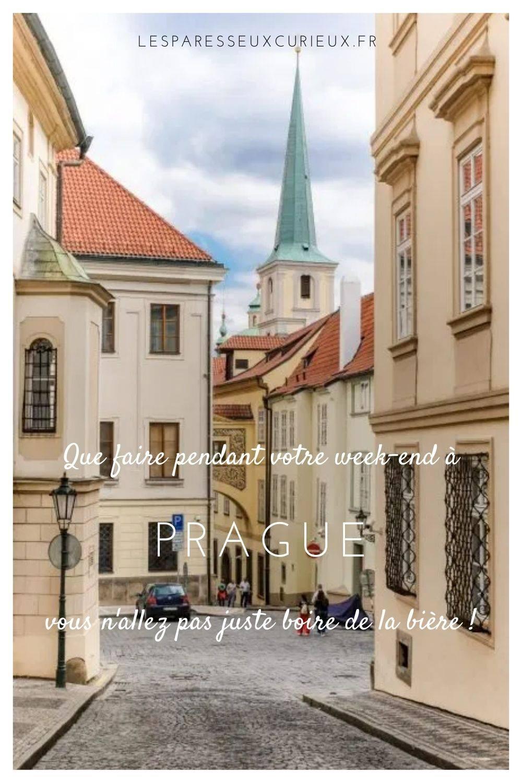 Pinterest Pin Que faire à Prague