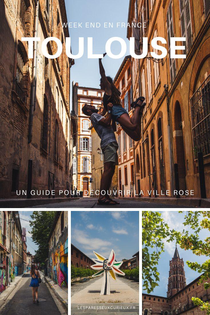 Pinterest Pin week end à Toulouse