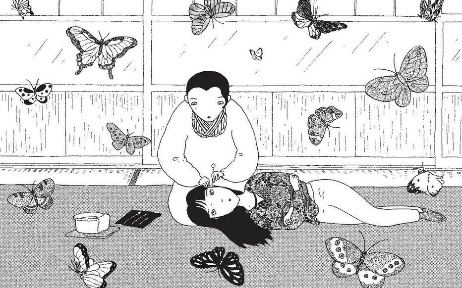 "Illustration du manga ""Mimikaki"""