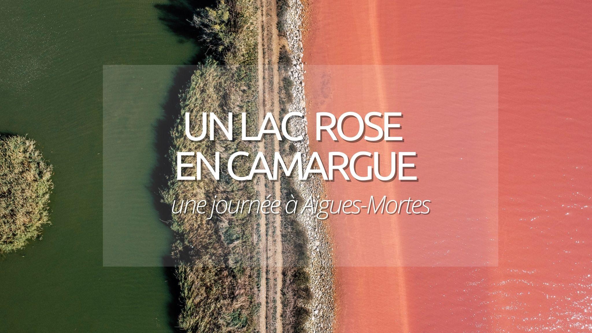 Découverte curieuse : Aigues-Mortes et son lac rose en Camargue