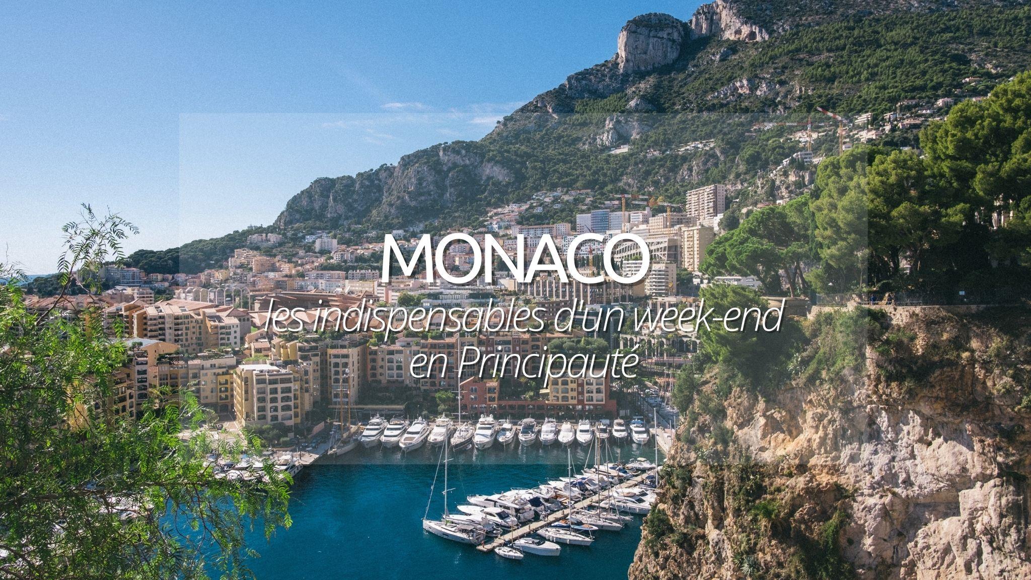 Week end Monaco : Partez en pôle position pour un circuit Monégasque