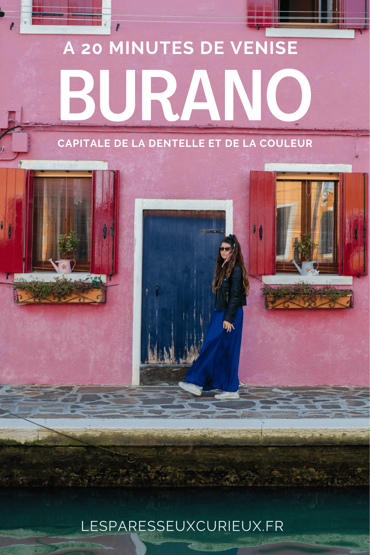 deuxième epingle visiter burano ou murano