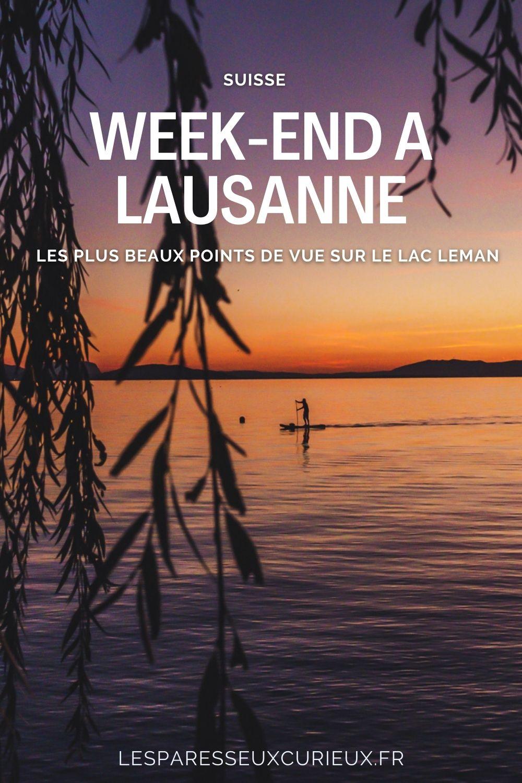 que visiter à Lausanne