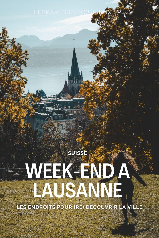 Point de vue sur Lausanne