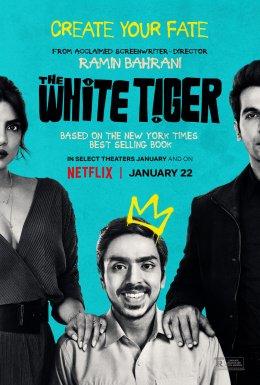 affiche du film the white tiger