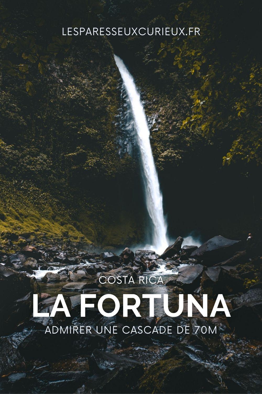 la fortuna waterfall pinterest