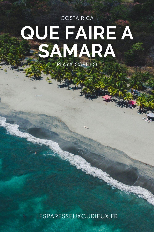 playa carillo samara au costa rica
