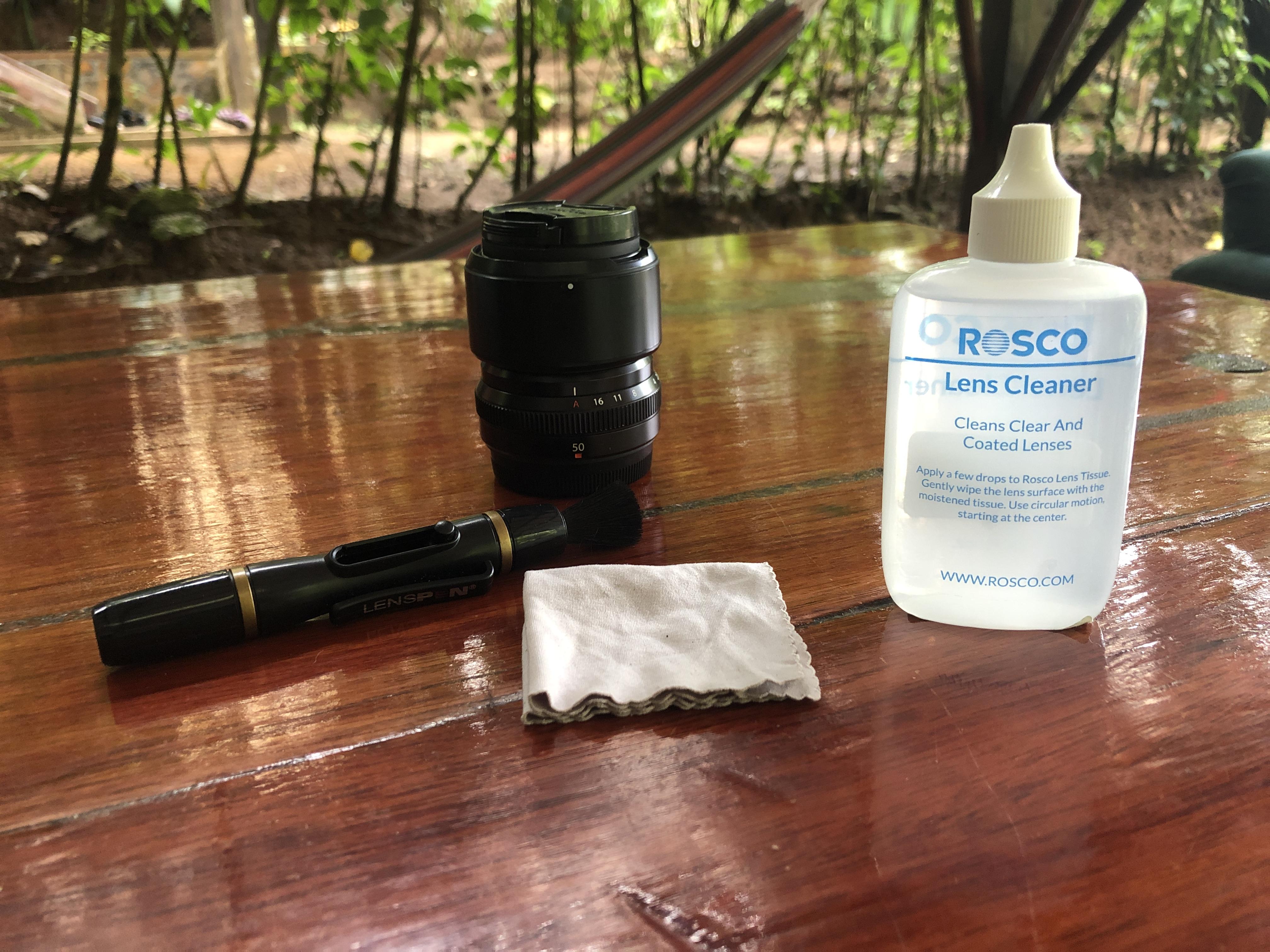 materiel nettoyage capteur photo