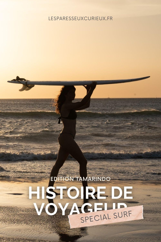 histoire de voyageur special surf