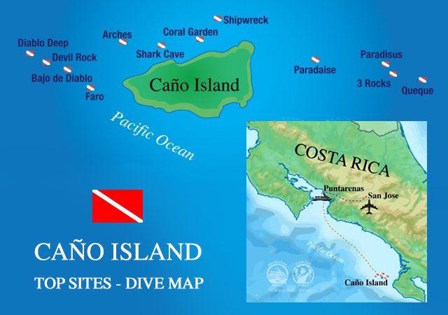 sites plongée corcovado à Isla del Cano
