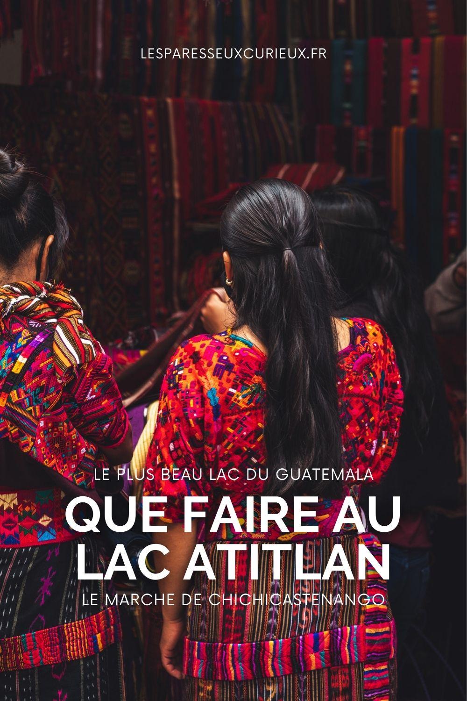Pinterest epingle chichicastenango visiter Atitlan