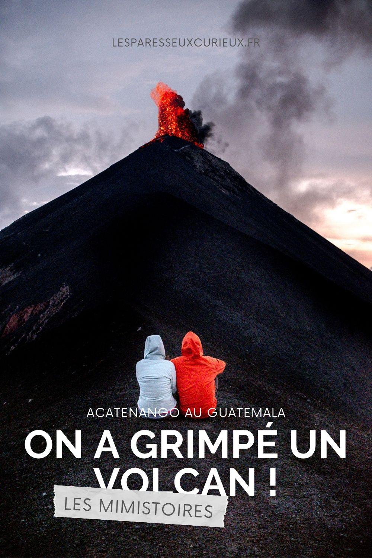 epingle volcan