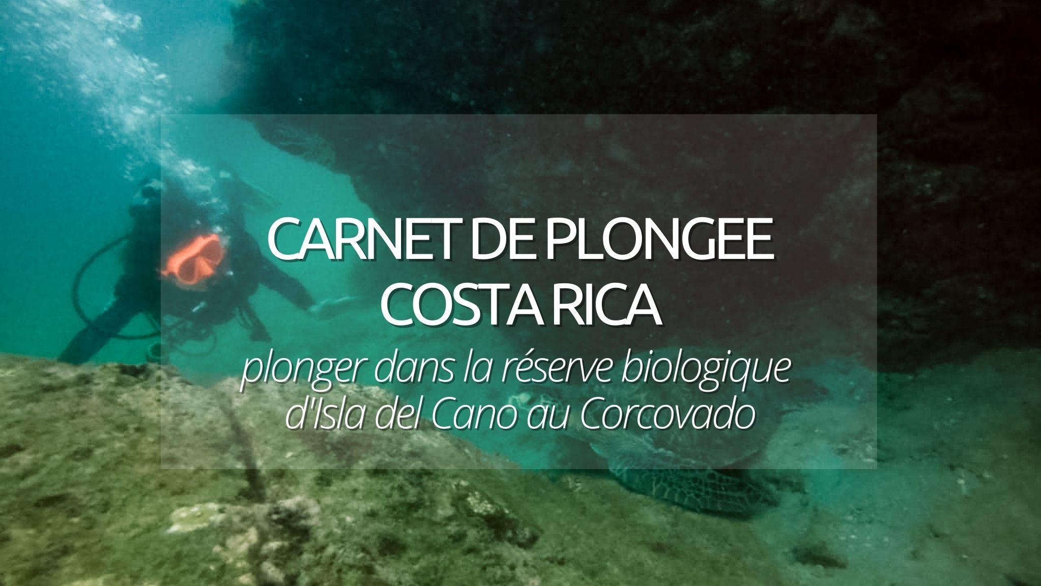 couverture plongée corcovado isla del cano costa rica