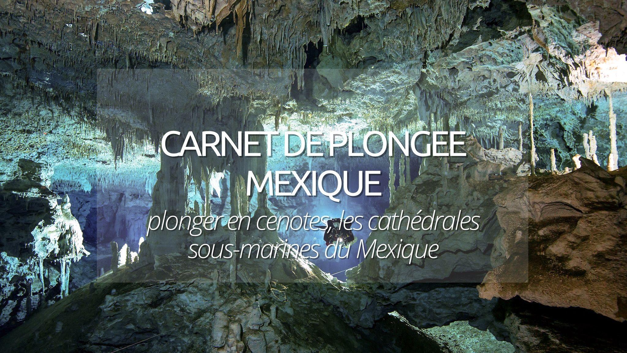 Carnet de plongée : plonger en cenote au Mexique