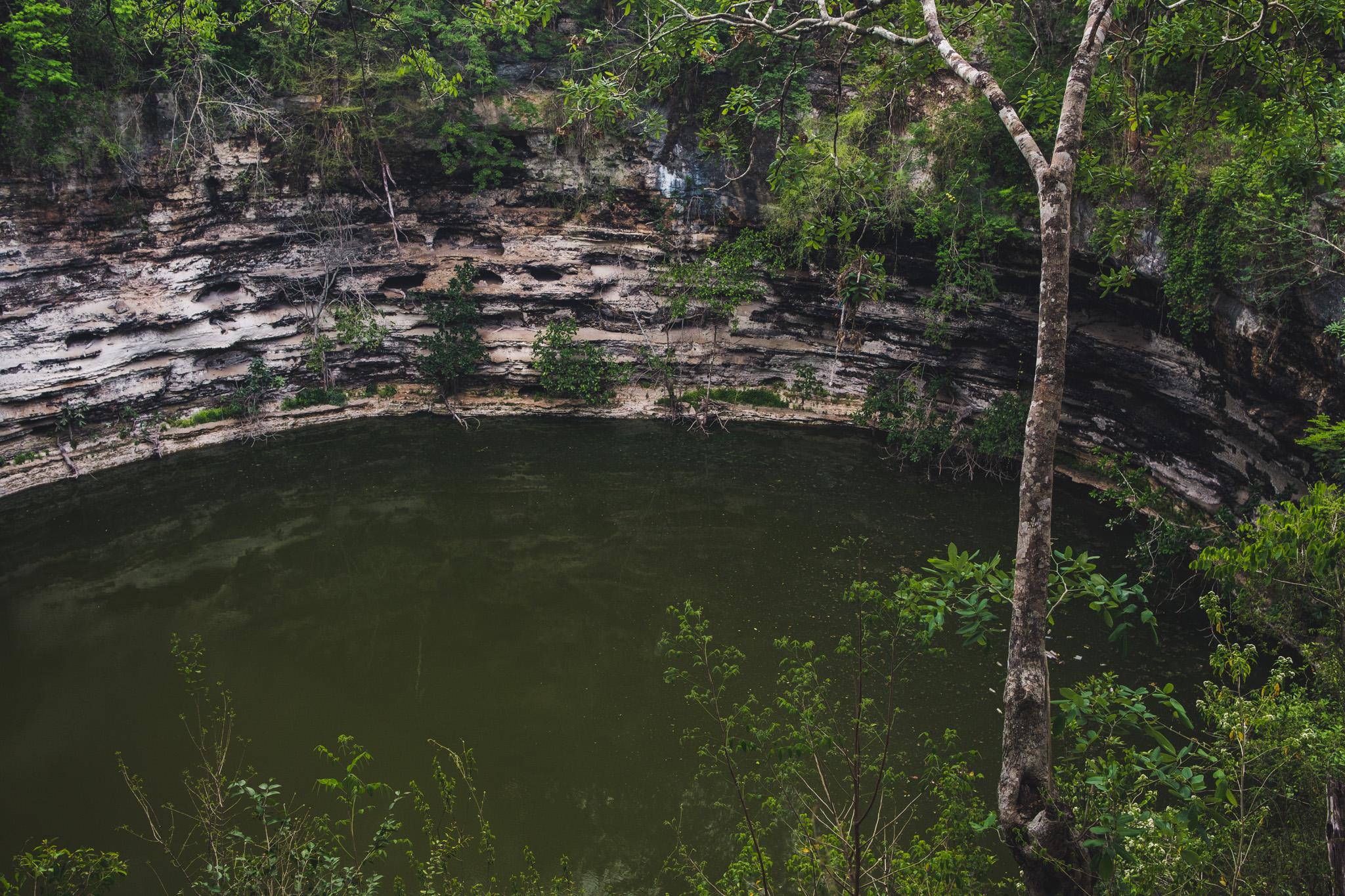 cenote de chichen itza
