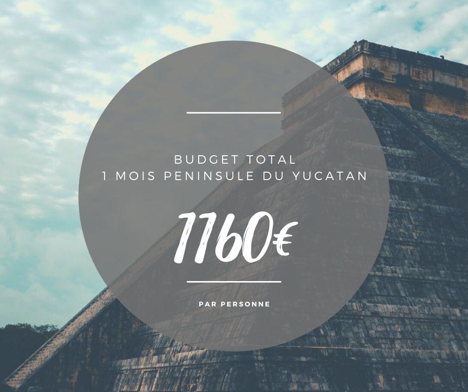 budget roadtrip peninsule yucatan