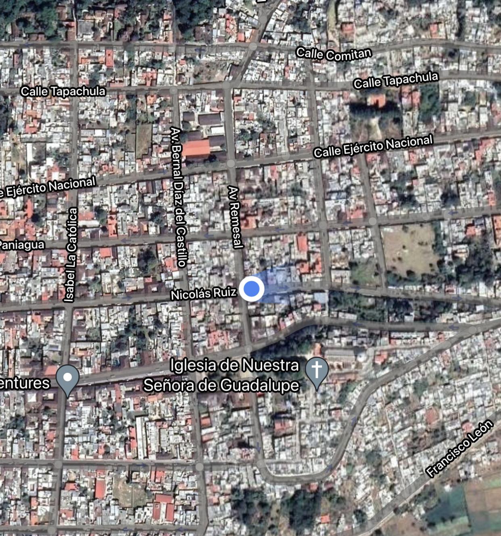 emplacement colectivo arcotete depuis san cristobal