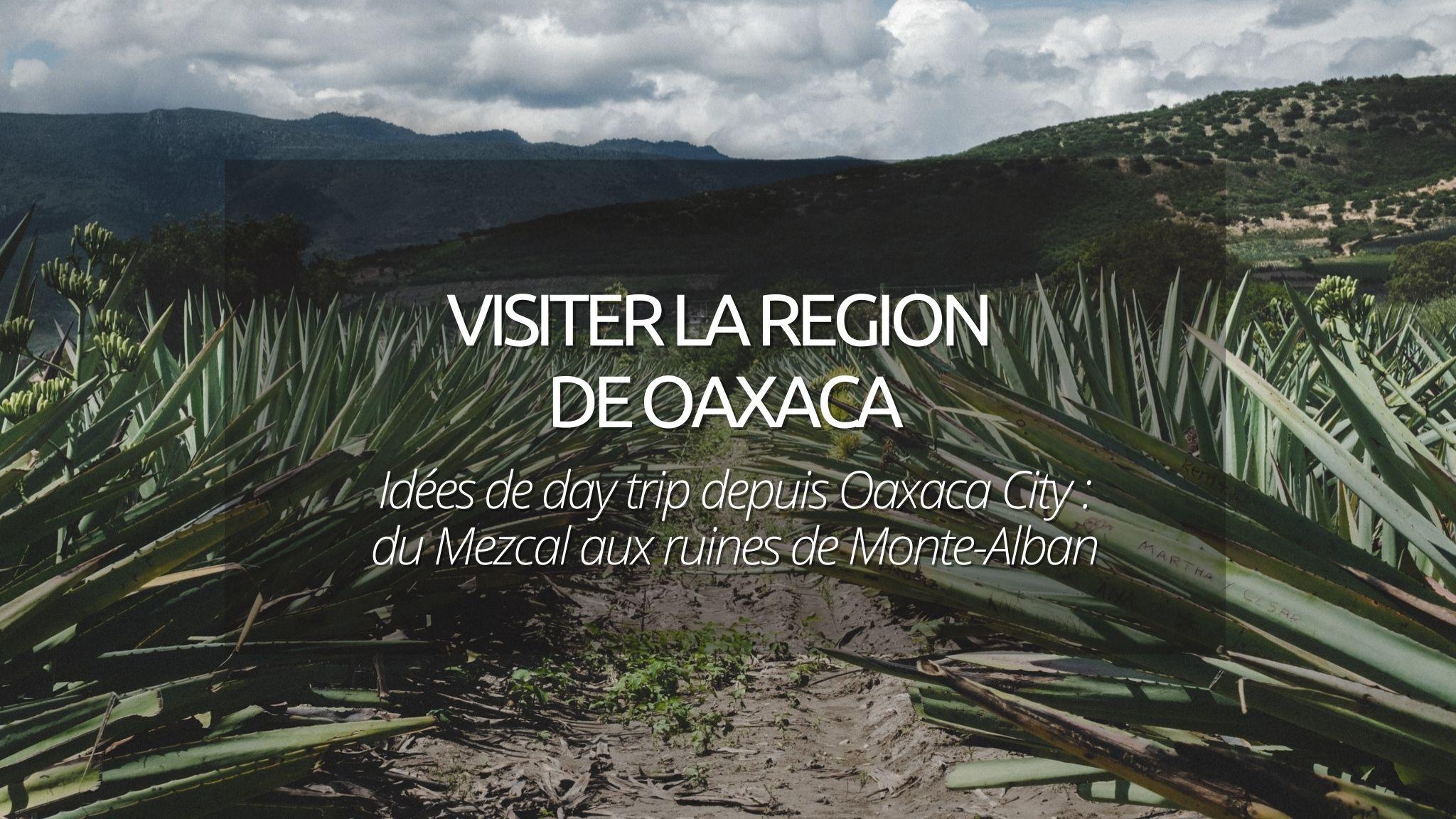 Visiter Oaxaca : Idées d'excursions, du Mezcal aux ruines de Monte-Alban