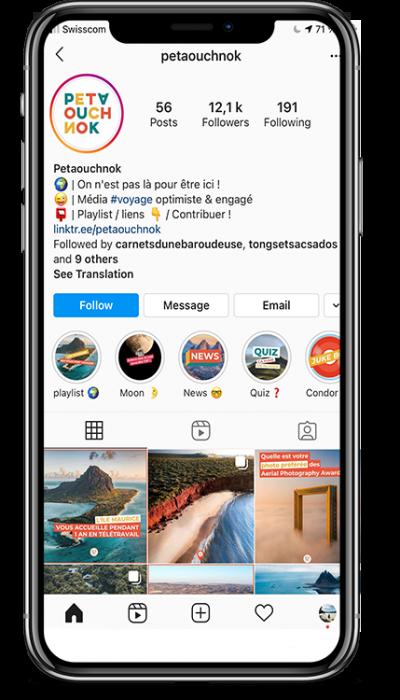Petaouchnok sur instagram